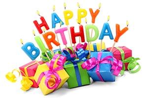 Happy Birthday Sale